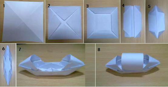 No1 3D立体雪花装饰  材料和工具:白纸(或彩纸)、剪刀、订书机、尺子、铅笔、胶水 制作步骤: 1.剪出正方形,将其对折。再对折 2.画三条直线 3.沿着直线剪三刀,注意不要剪到底 4.打开后的样子 5.把最小的那个正方形卷起来用胶水固定 6.反过来固定第二个正方形。再反过来固定第三个 7.
