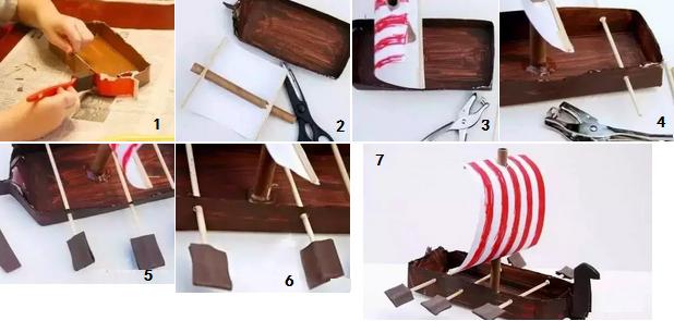10.端午节纸粽子折纸完成,话说可以用作礼物的包装盒呢!