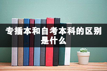 专插本和自考本科的区别主要体现在学习形式和文凭性质方面