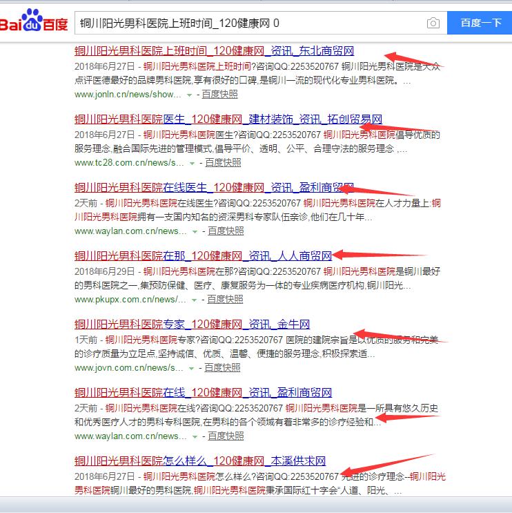 铜川阳光男科医院上班时间_120健康网